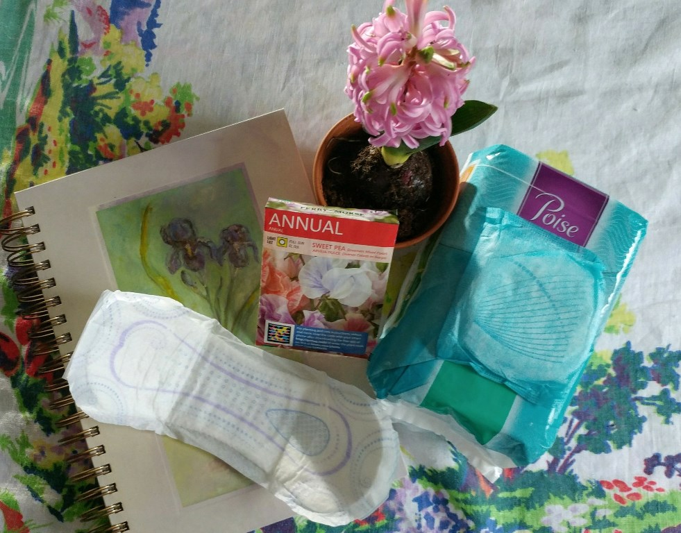 Poise® helps me keep my #gardening goals #ad #PoiseMoment