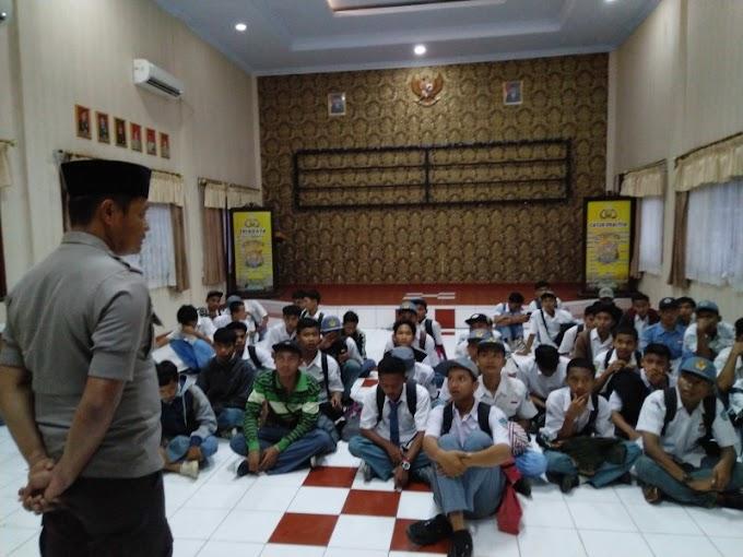 Puluhan Pelajar Bajak Bus Koni Di Pandeglang Banten Diamankan Polisi