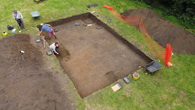 Archaeologists find 'lost' monastery ruled by Queen of Mercia