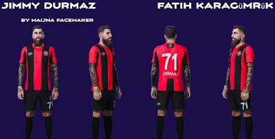 PES 2021 Faces Jimmy Durmaz by Maijna