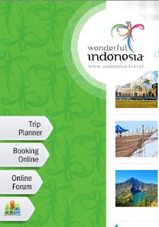 Berselancar di Situs Resmi Indonesia.Travel, Wonderful Indonesia