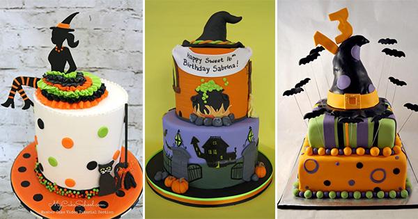 🎂 Tartas de Brujas para la noche de Halloween