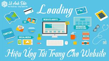 Tạo Hiệu Ứng Loading Với CSS Spinner Tuyệt Đẹp Cho Website/Blogspot