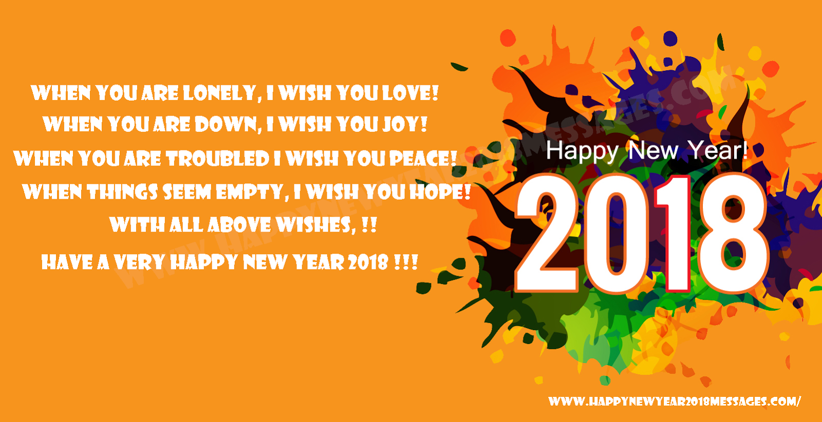 Happy New Year Story, Happy New Year 2018 Story, Happy New Year Wishes 2018