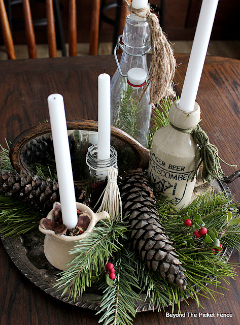 Create a Natural Boho Advent Centerpiece