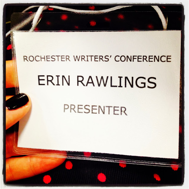Rochester Writers' Conference presenter mommy on the spot