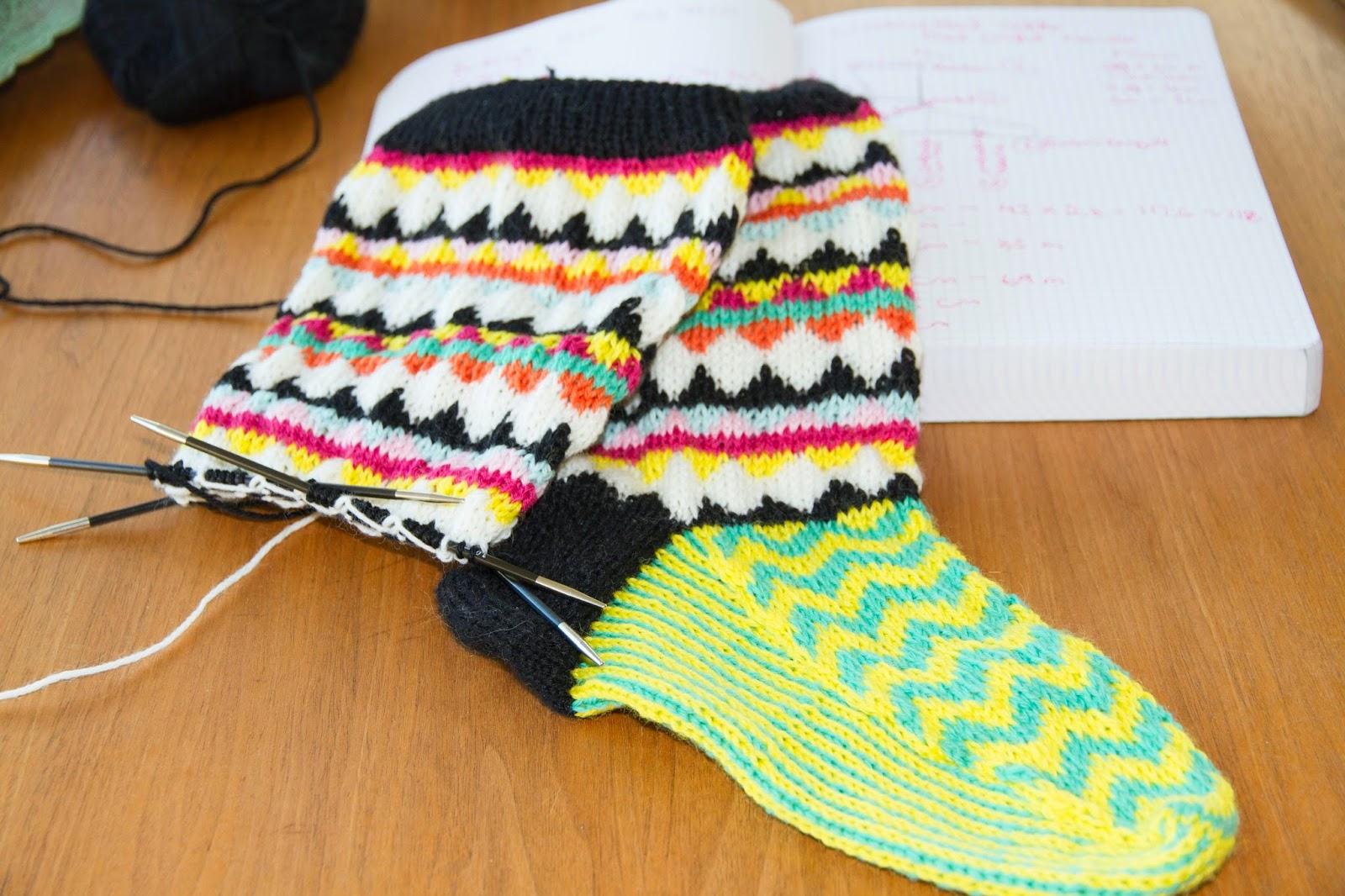 Grafichal stranded knitting, Charlotte Kaae Design, www.bykaae.dk