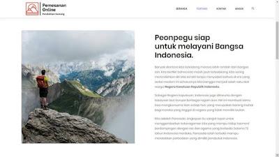 Source Code Aplikasi Pemesanan Tiket Pendakian Gunung [GATIS]