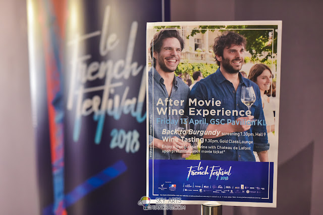 Le French Film Festival 2018 Launching at GSC Pavilion KL, Malaysia - After movie wine experience