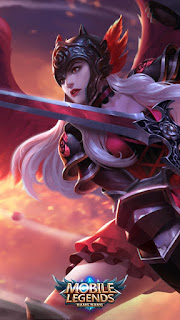 Freya Dark Rose Heroes Fighter of Skins V1