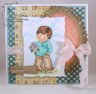 Heather's Hobbie Haven - Flowers for You Card Kit