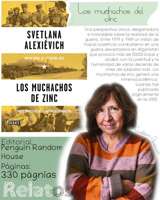 Los muchachos del Zinc - Svetlana Alexiévich