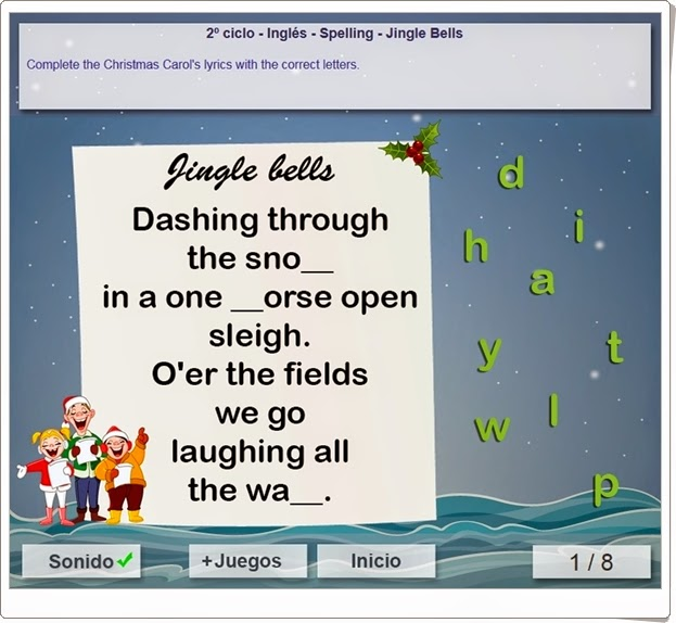 http://www.mundoprimaria.com/juegos/ingles/ortografia/3-4-primaria/1340-juego-navideno-ortografia/index.php