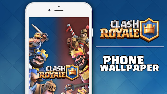 clash royale wallpapers in one zip file king wallpaper troops and ...