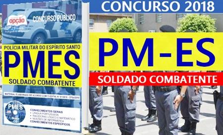 Apostila Concurso PMES 2018 Soldado