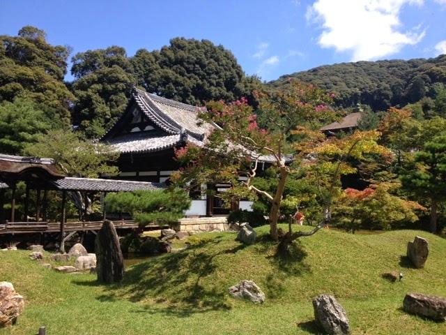 il bellissimo giardino del tempio