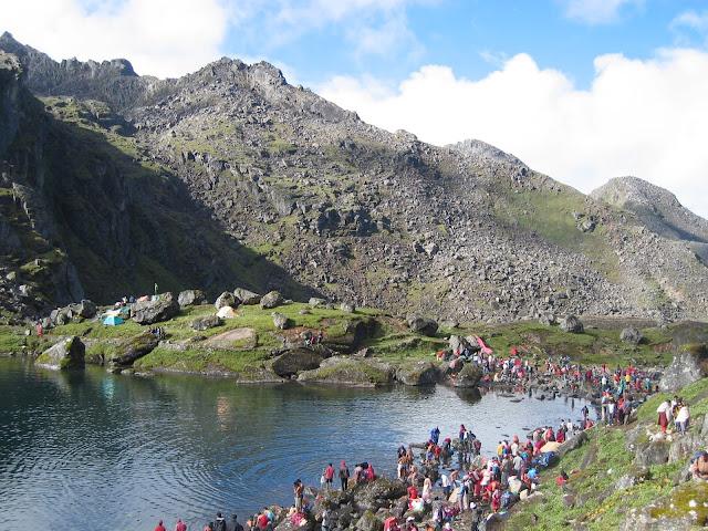 Gosainkunda Lake Janai Purnima festival