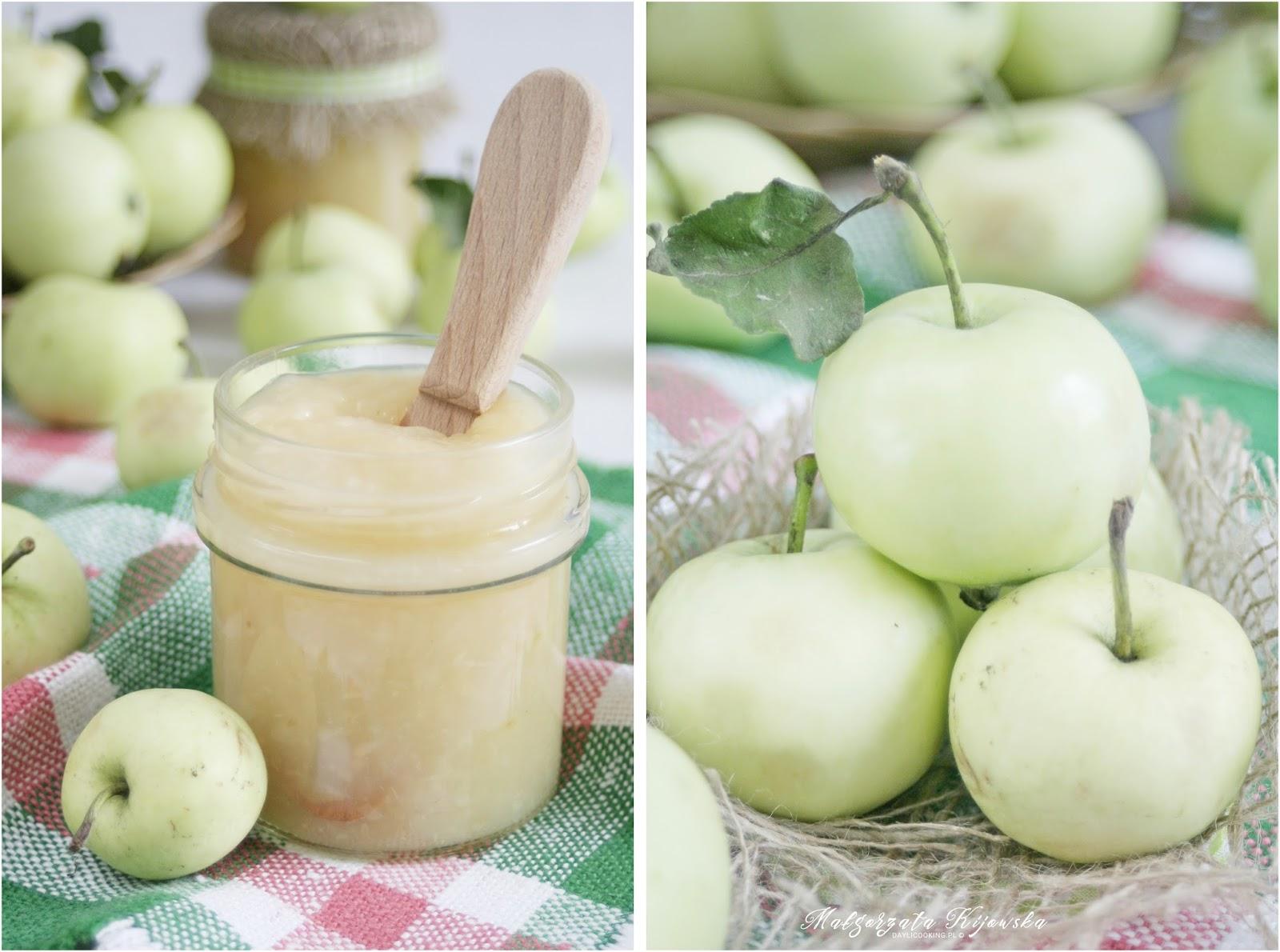 mus jabłkowy, przecier jabłkowy, co zrobić z papierówek, daylicooking, Małgorzata Kijowska