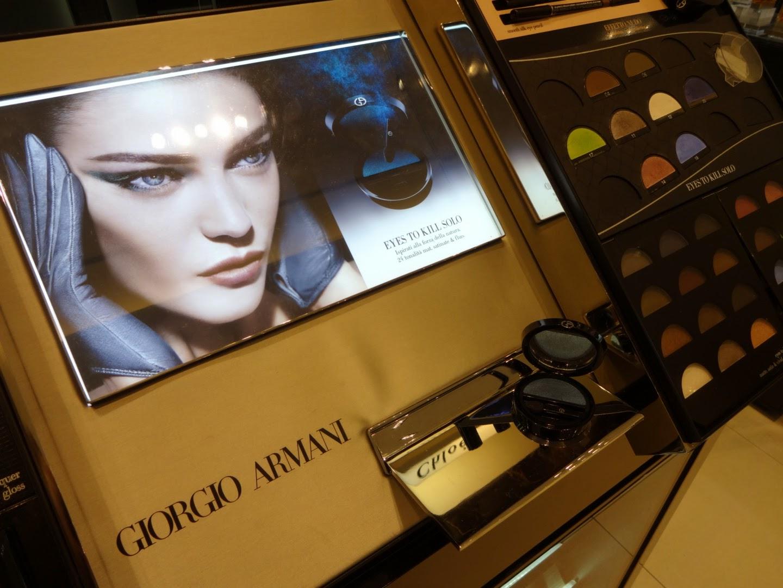 Giorgio Armani make up spring 2014 Eyes To Kill Solo Eyeshadow