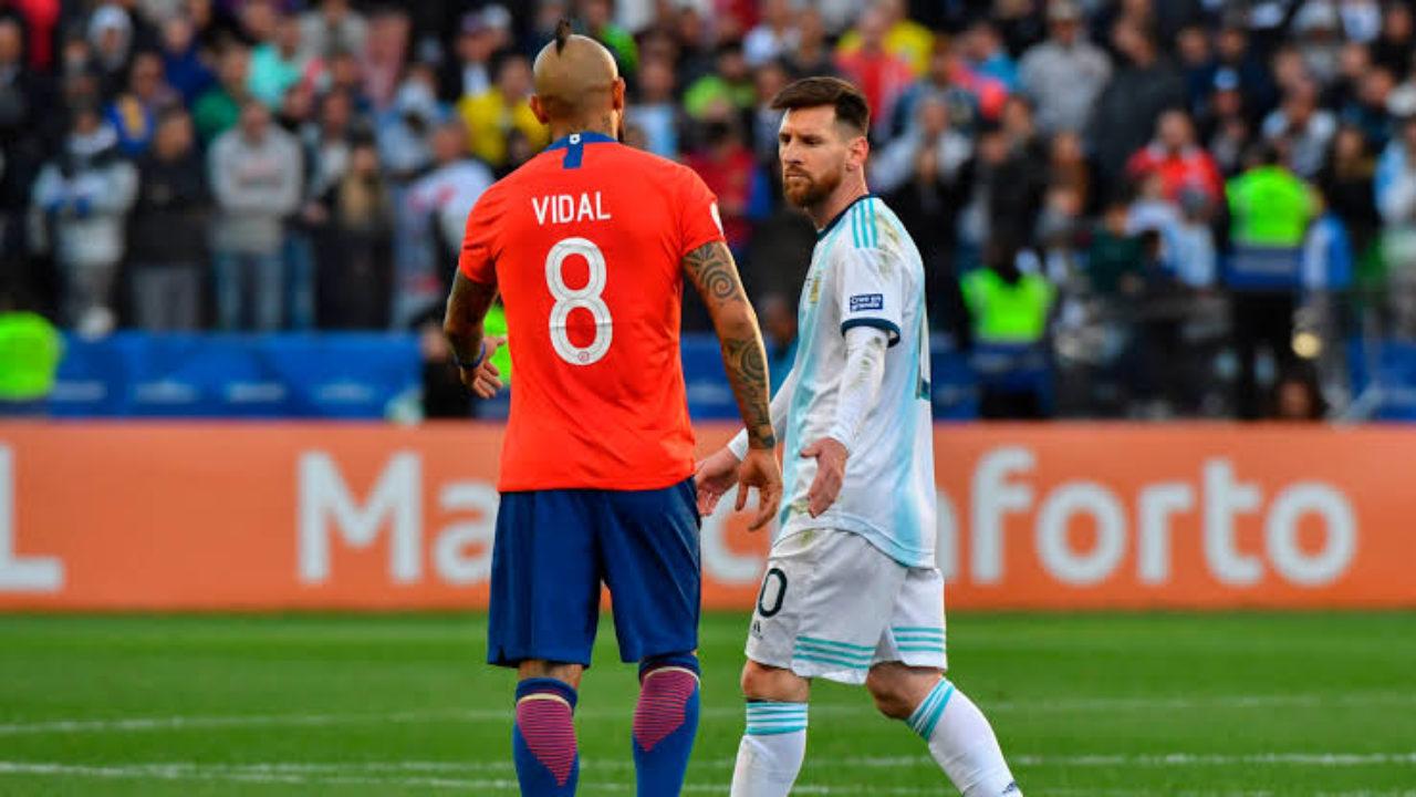 مباراة الارجنتين وتشيلي تصفيات كأس العالم