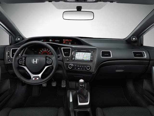 2013 Honda Civic Si Coupe interior