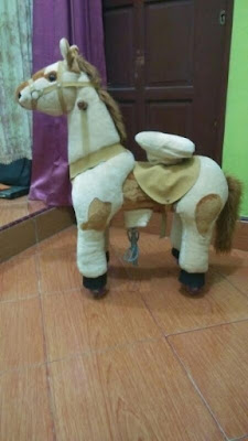 Harga dan Spesifikasi Kuda Mekanik / Kuda Gowes / Walking Animal / Pony Cycle Ukuran L Terbaru Agustus 2017
