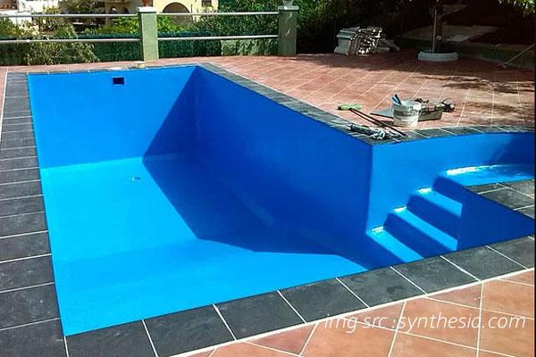 Waterproofing polimer kolam renang