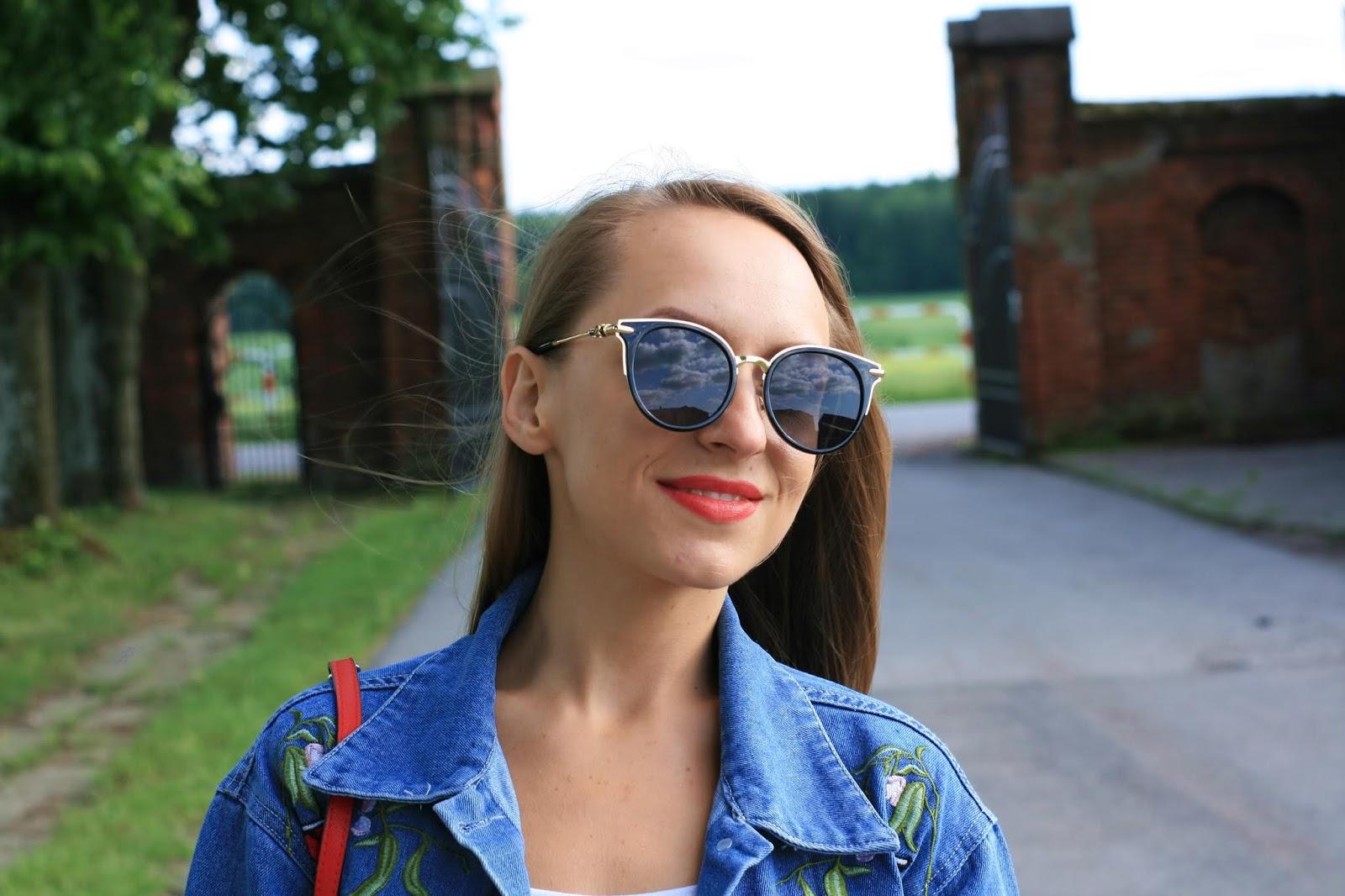 Rosegal denim jacket in casual stylization | Strój dnia z kurtką jeansową Rosegal