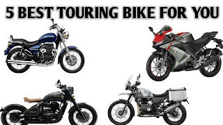 Top 5 Best touring bike in india 2020   MOTORINDIA.IN