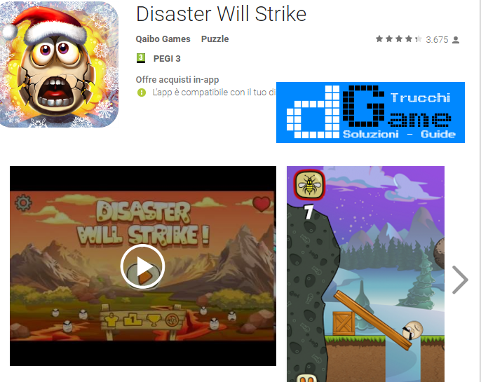 Soluzioni Disaster Will Strike livello 61-62-63-64-65 | Trucchi e Walkthrough level