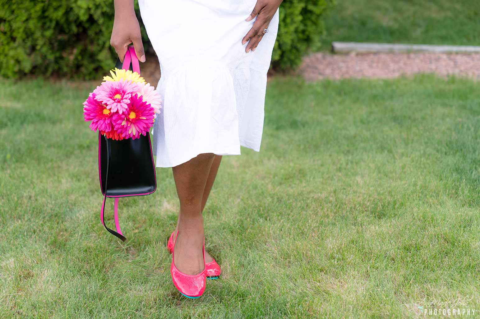 Adults and Little Miss Tieks - How to Celebrate Mother's Day From Far Away