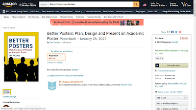 Screenshot of Amazon showing Better Posters