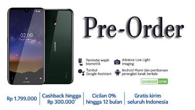 Nokia 2.2 Sudah Bisa Pre-Order, Berikut Harganya