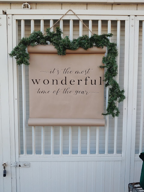 It's The Most Wonderful Time Of The Year Scroll  with Meander Gatherings 2020 Holiday Shoot