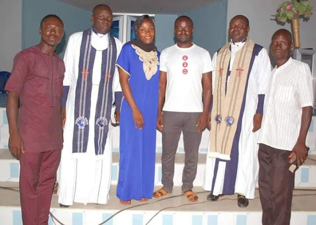 Couples wed in casual outfits in Gombe
