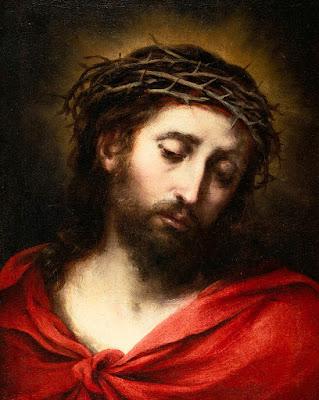 Imagem de Jesus Cristo com a coroa de espinhos, pintura, #1