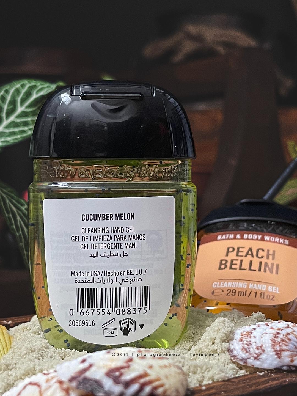 Bath & Body Works PocketBac Cleansing Hand Gel Cucumber Melon
