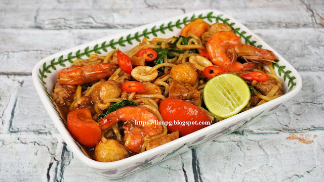 resepi mee hailam simple,mi hailam sedap, reespi mi hailam mudah dan sedap, cara masak mee hailam, mee hailam melayu, mi hailam chinese style,