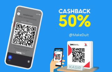 Cara Dapat Cashback 50% dari Aplikasi Blu