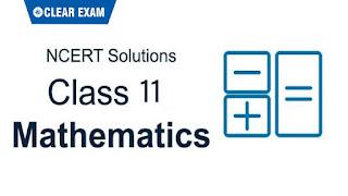 NCERT Solutions Class 11 Mathematics