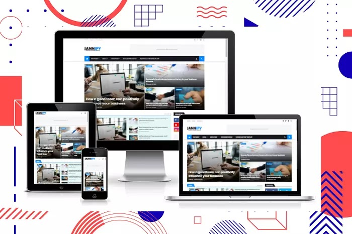 Download Free Jannify Responsive Blogger Template