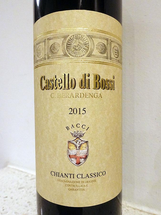 Castello di Bossi C. Berardenga Chianti Classico 2015 (91 pts)