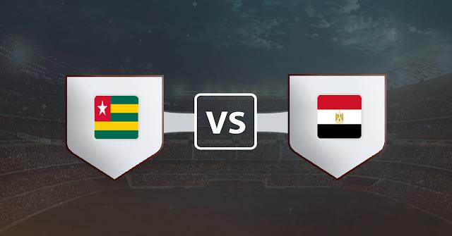 نتيجة مباراة مصر وتوجو اليوم الثلاثاء 17 نوفمبر 2020 في تصفيات كأس أمم أفريقيا