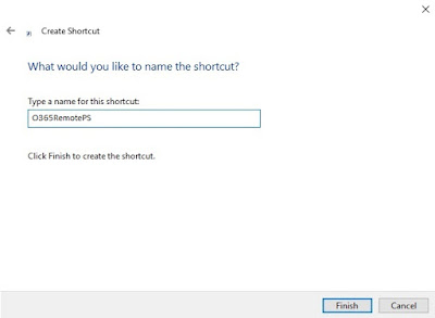 O365 Remote Shortcut