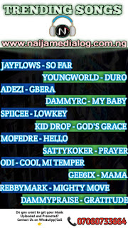 Naijamedialog Trending Songs
