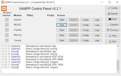 Cara Install Xampp Terbaru di windows 64 bit dan 32 bit