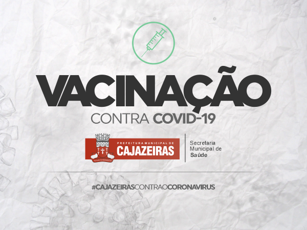 Secretaria de Saúde de Cajazeiras, vacinou 1.040 pessoas na faixa etária acima de 34 anos nesta quinta-feira