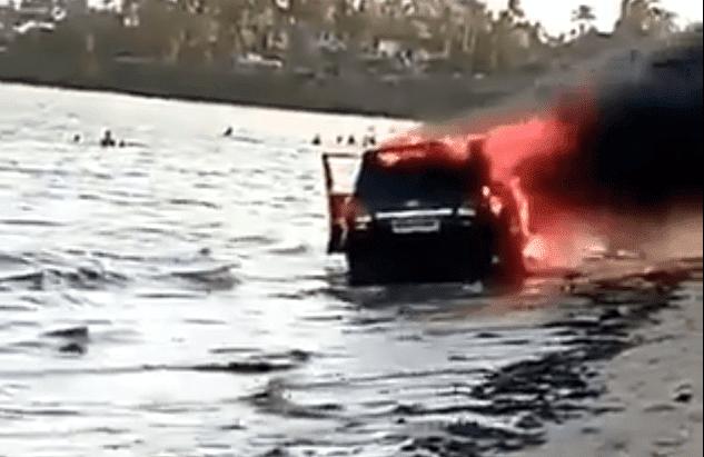 luxury SUV- a Toyota Landcruiser V8