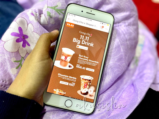 'Choc' out Gong Cha's 11.11 Big Drinks