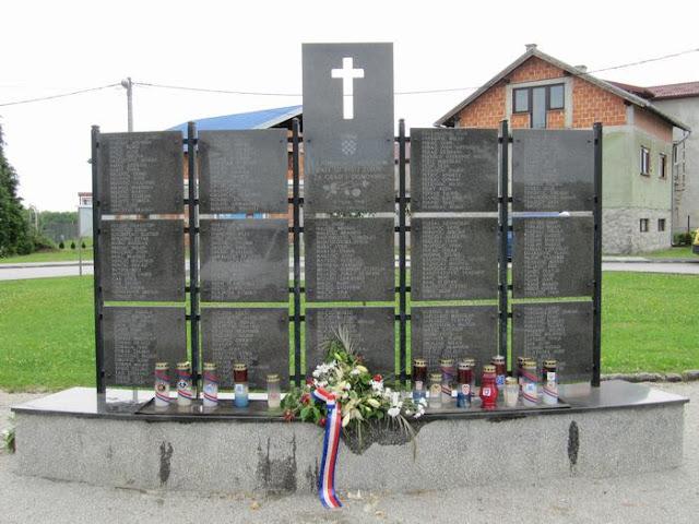 monumento caidos guerra yugoslavia